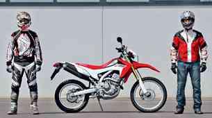 Test: Honda CRF250L skozi oči dirkača in najstnika