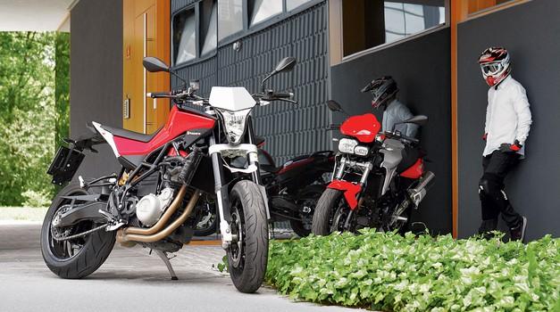 Vzporedni test: Husqvarna Nuda 900 R in BMW F800R (foto: Matevž Hribar)