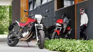 Vzporedni test: Husqvarna Nuda 900 R in BMW F800R