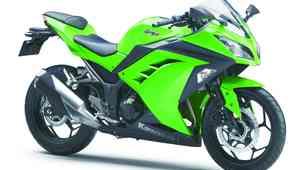Novosti 2013: Kawasaki Ninja 300 z videzom 'Desetke'