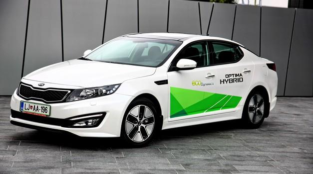 Novo v Sloveniji: Kia Optima Hybrid (foto: VK)