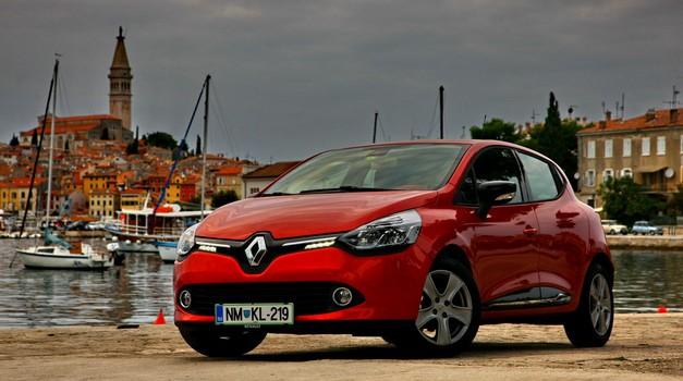 Novo v Sloveniji: Renault Clio (foto: VK)