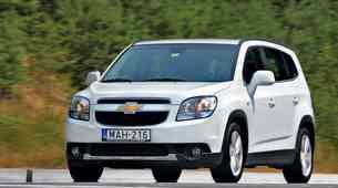 Kratek test: Chevrolet Orlando 2.0D (120 kW) LTZ