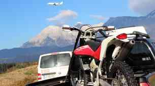 Foto: Preizkušanje novih Husqvarn na brniški motokros stezi