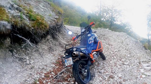 Test: KTM 990 Adventure Dakar Edition (foto: Matevž Hribar)