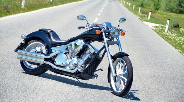 Honda VT1300CX ABS Fury: Čas na prodaj (foto: Matevž Hribar)