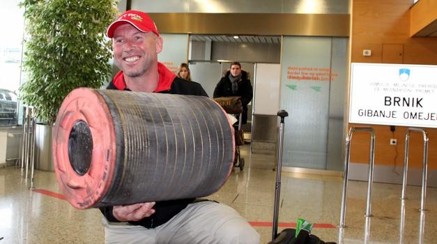 Stanovnik po prihodu v Slovenijo: »Komaj čakam, da grem spet na dirko!« (foto: Matevž Hribar)