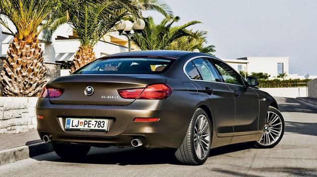 Na kratko: BMW 640d Gran Coupe (foto: Saša Kapetanovič)