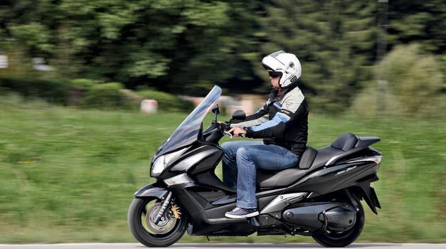 Test: Honda FJS 600A Silverwing (foto: Aleš Pavletič)