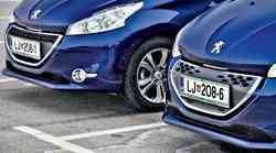 Primerjalni test: Peugeot 208 1.2 VTi Allure in 1.4 e-HDi Active