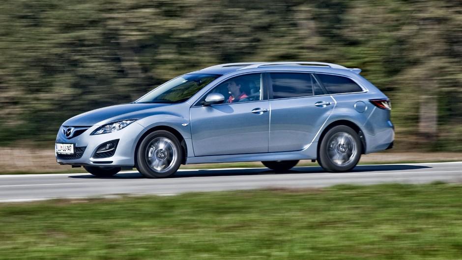 Kratki test: Mazda6 Sport Combi CD129 Takumi