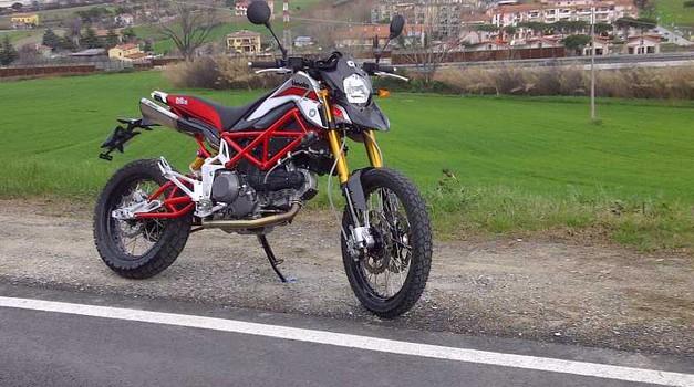 Bimota DBX gre na Erzberg (foto: Bimota)