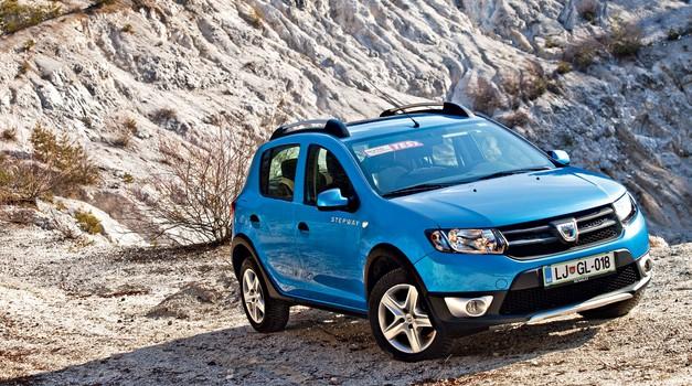 Test: Dacia Sandero 1.5 dCi (66 kW) Stepway Prestige (foto: Saša Kapetanovič)