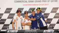 MotoGP: Katar - Lorenzo, Rossi, Marquez, vsi dosegli sanje