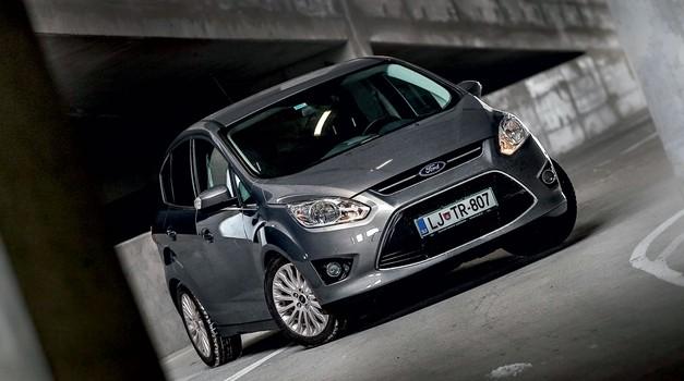 Kratki test: Ford C-Max 1.0 EcoBoost (92 kW) Titanium (foto: Aleš Pavletič)
