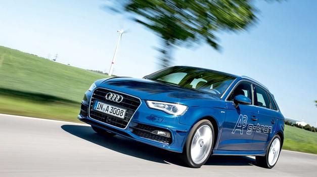 Vozili smo: Audi A3 Sportback g-tron (foto: tovarna)