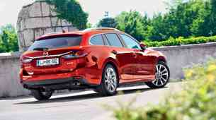 Kratki test: Mazda6 Sport Combi CD175 AT Revolution