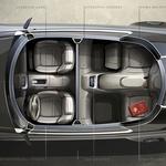 Vladimir Putin bo morda imel novo limuzino (foto: CarDesign.ru)