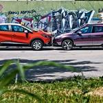 Primerjalni test: Peugeot 2008 1.6 e-HDi (84 kW) Allure in Renault Captur TCe 120 EDC Expression (foto: Saša Kapetanovič)