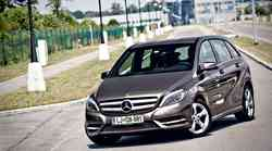 Kratki test: Mercedes Benz B 180 CDI 7G-DCT Blue Efficiency
