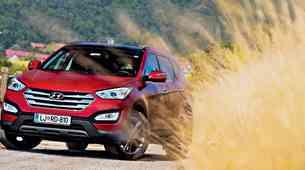 Kratki test: Hyundai Santa Fe 2.2 CRDi 4WD Impression