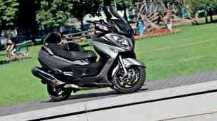 Test: Suzuki Burgman 650
