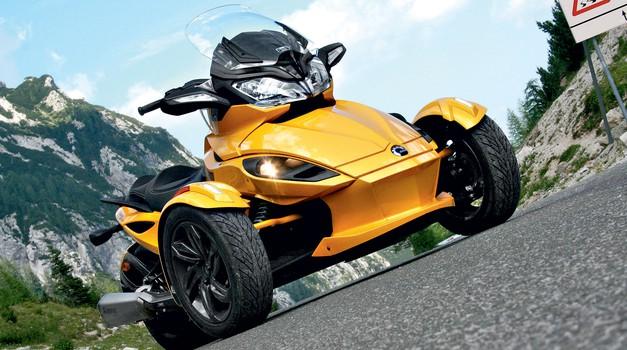 Test: Can-am Spyder ST-S Roadster (foto: Primož Jurman)
