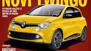 V novem Avto Magazinu: novi Twingo iz Novega mesta!