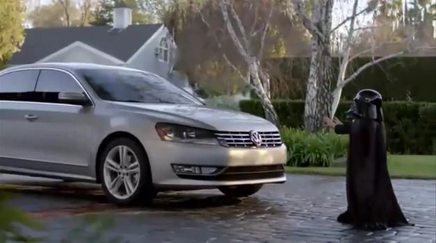 Volkswagen proti mini Darth Vaderju? (foto: One Show / The One Club)