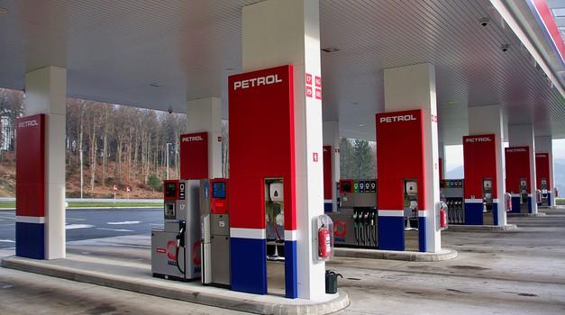 Nov Petrolov bencinski servis pri Trebnjem
