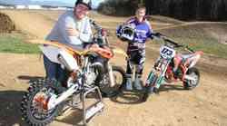 Avtomagazinova šola motokrosa za najmlajše