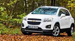 Test: Chevrolet Trax 1.7 MT6 4x4 LT
