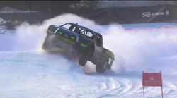 Divjanje po snegu in ledu z Red Bull ekipo