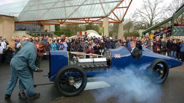Rekordni Sunbeam spet živi! (foto: Beaulie National Motor Museum)