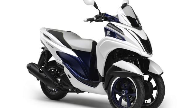 Yamaha Tricity: sedaj tudi uradno del ponudbe (foto: Yamaha)