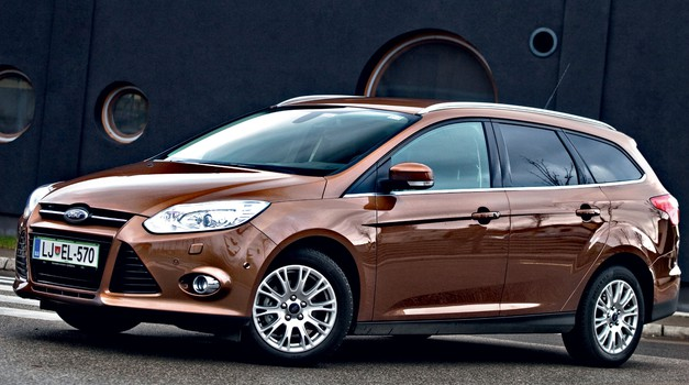 Kratki test: Ford Focus Karavan 1.6 TDCi (77 kW) 99g Titanium (foto: Saša Kapetanovič)