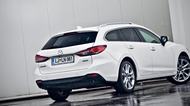 Kratki test: Mazda6 2.0 Skyactive SPC Revolution (foto: Saša Kapetanovič)