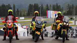 Motoristi in zavarovalnica Triglav zbrali 6000 evrov na preventivnem treningu