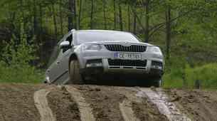 Škoda Yeti 4x4 izziv: uspešne prve kvalifikacije