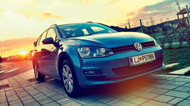 Podaljšani test: Volkswagen Golf Variant 1.4 TSI (90 kW) Comfortline (foto: Saša Kapetanovič)