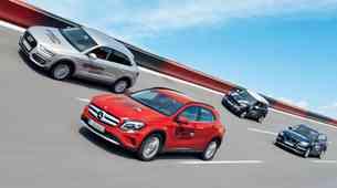 Primerjalni test: Audi Q3, BMW X1, Mercedes GLA in Mini Countryman