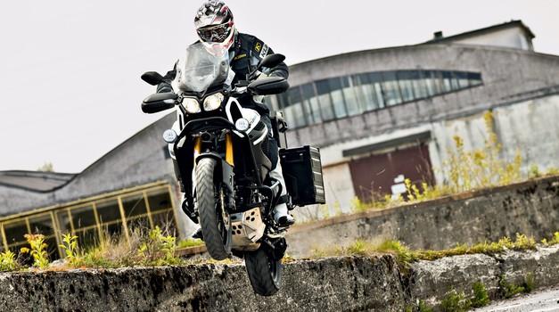 Test: Yamaha XT1200ZE Super Ténéré (foto: Saša Kapetanovič in Peter Kavčič)