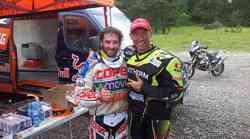 KTM in Stanovnik testirali vzmetenje za Dakar 2015