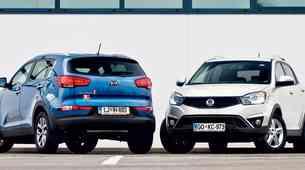 Primerjalni test: Kia Sportage 1.7 CRDi in SsangYong Korando 2.0 Xdi AWD