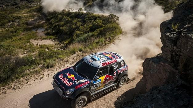Dakar 2015, 2. etapa: zmaga Barredi in Al Attiyahu, Stanovnik izmučen v cilju (foto: moštva)