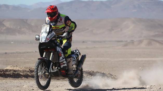 Dakar 2015, 5. etapa: Stanovnik srčno do 35. mesta, prva etapna zmaga Comi (foto: moštva)