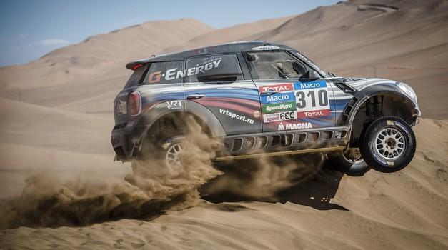 Dakar 2015, 5. etapa: Prva zmaga za Rusa Vasilyeva, Stanovnik srčno do 35. mesta (foto: moštva)
