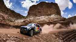 Dakar 2015, 11. etapa:Al Attiyah utrdil prednost, Stanovnik kljub težavam v cilju