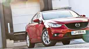 Kratki test: Mazda6 Sedan CD150 Attraction
