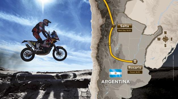 Dakar 2016: Peru-Salta-Rosario (foto: Dakar)